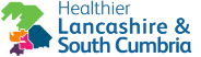 Healthier Lancashire and South Cumbria logo